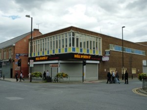 Former Woolworths and Well Worth It, Wallsend (8 Aug 2011). Photograph by Graham Soult