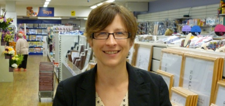Wellchester's Claire Robertson (8 Sep 2011). Photograph by Graham Soult