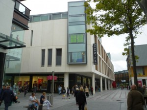 New Debenhams at Princesshay, Exeter (6 Sep 2011). Photograph by Graham Soult