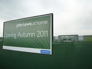 John Lewis at Home, Tamworth (3 Sep 2011). Photograph by Graham Soult