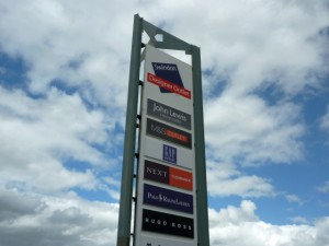 Swindon Designer Outlet (11 Sep 2011). Photograph by Graham Soult