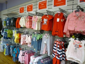 Childrens' clothing at Wellchester (8 Sep 2011). Photograph by Graham Soult