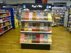 Pick 'n' mix at Wellchester (8 Sep 2011). Photograph by Graham Soult