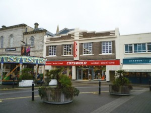 Former Woolworths (now Cotswold Outdoor), Truro (21 Feb 2011). Photograph by Graham Soult