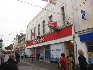 Former Woolworths, Falmouth (3 Sep 2011). Photograph by Stu Wrigley