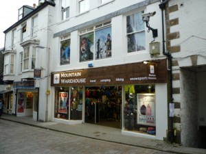 Former Woolworths (now Mountain Warehouse), St Ives (20 Feb 2011). Photograph by Graham Soult