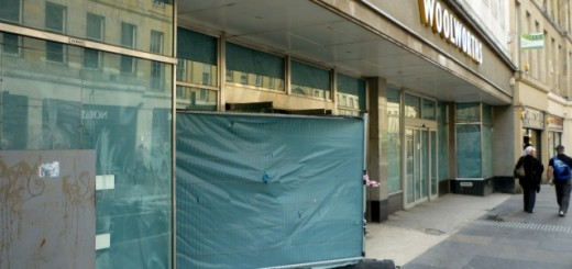 Former Woolworths, Newcastle (23 Aug 2011). Photograph by Graham Soult