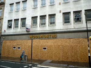 Former Woolworths, Newcastle (17 Sep 2011). Photograph by Graham Soult