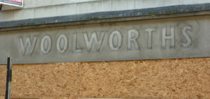 Former Woolworths, Newcastle (30 Sep 2011). Photograph by Graham Soult