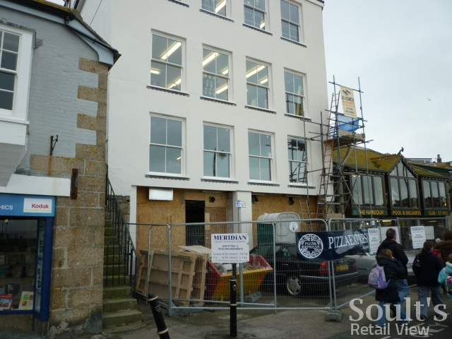 Former Woolworths Now Pizza Express St Ives 20 Feb 2011