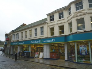 Former Woolworths (now Poundland), Truro (21 Feb 2011). Photograph by Graham Soult