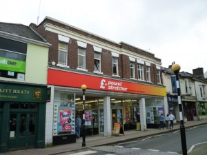 Former Woolworths (now Poundstretcher), Camborne (20 Feb 2011). Photograph by Graham Soult