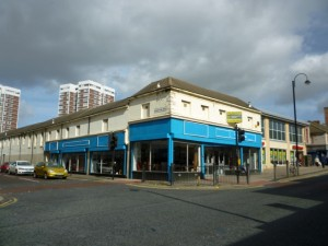 Former Woolworths (now YMCA), Byker (22 Sep 2011). Photograph by Graham Soult