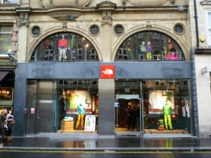 The North Face, Newcastle (29 Oct 2011). Photograph by Graham Soult
