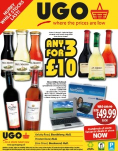 UGO ad in Hull Daily Mail, October 2011