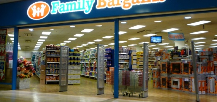 Family Bargains (former Woolworths), Bristol Galleries (22 Feb 2011). Photograph by Graham Soult