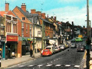 Postcard of Ledbury Woolworths in the 1970s (?)
