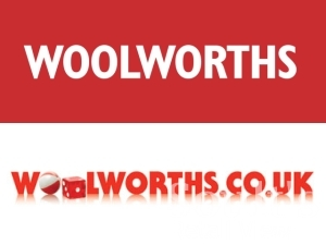 Pre-collapse Woolworths logo (top) and Shop Direct's version since 2009 (bottom)