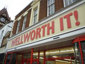 Wellworth It! in Ledbury (8 Oct 2011). Photograph by Graham Soult