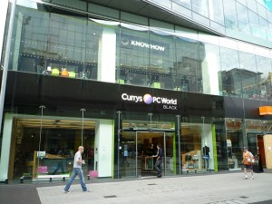 Currys PC World Black, Birmingham (19 Aug 2011). Photograph by Graham Soult