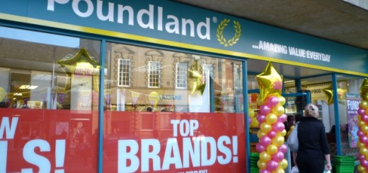 Poundland, Hexham (19 Nov 2011). Photograph by Graham Soult