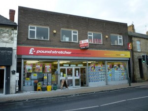 Poundstretcher, Wombwell (3 Nov 2011). Photograph by Graham Soult