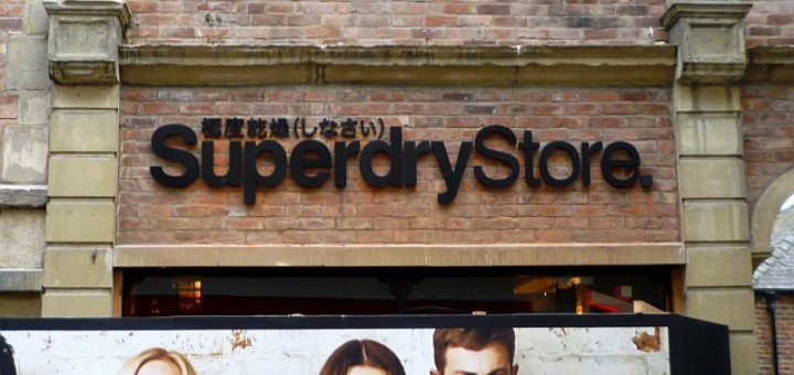 Soon-to-open Superdry, Durham (16 Nov 2011). Photograph by Graham Soult