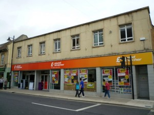 Poundstretcher (former Woolworths), Melksham (9 Oct 2011). Photograph by Graham Soult