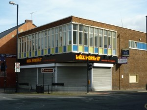 Former Woolworths, Wallsend (22 Sep 2011). Photograph by Graham Soult