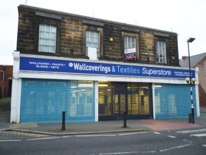 Former Woolworths, North Shields (15 Nov 2011). Photograph by Graham Soult