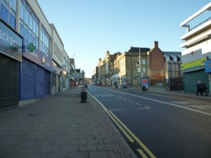 Jackson Street, Gateshead (18 Dec 2011). Photograph by Graham Soult