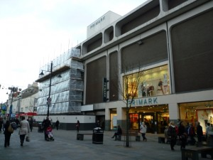 Newcastle's Primark extension underway (29 Nov 2011). Photograph by Graham Soult