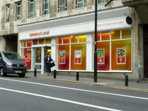 Sainsbury's Local, Gallowgate, Newcastle (10 May 2011). Photograph by Graham Soult
