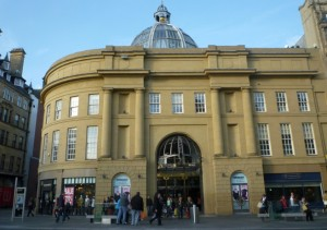 Monument Mall, Newcastle (26 Oct 2011). Photograph by Graham Soult
