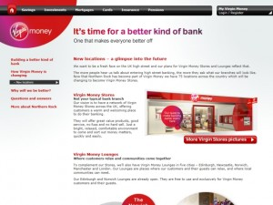 Locations information on the Virgin Money website (4 Jan 2012)