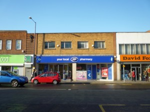 Former Woolworths (now Boots), Linthorpe Village (16 Nov 2010). Photograph by Graham Soult