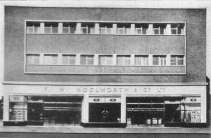 Exterior of new Middlesbrough store, from The New Bond, December 1958