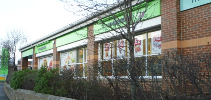 ...and now as a Co-op (28 Feb 2012). Photograph by Graham Soult