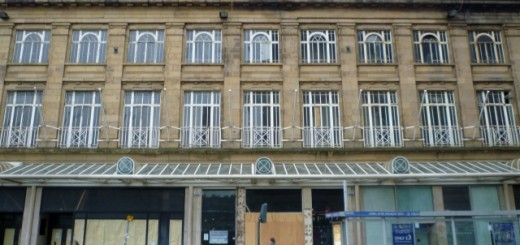 Former Woolworths, Princes Street, Edinburgh (29 Jan 2012). Photograph by Graham Soult