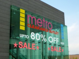 Existing Metro Outlet in Gateshead (25 Mar 2011). Photograph by Graham Soult
