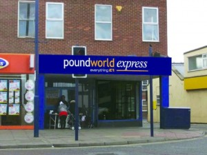Impression of new Redcar store. Image courtesy of Poundworld