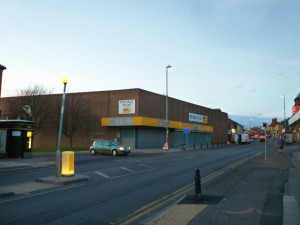 Morrisons development site, Birtley (28 Feb 2012). Photograph by Graham Soult