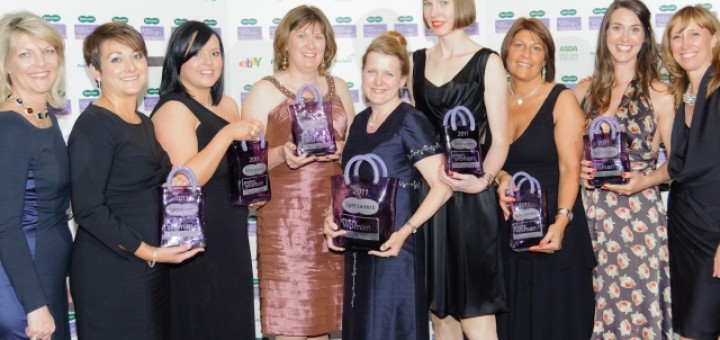 Winners of last year's Specsavers Everywoman in Retail Awards