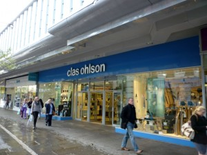 Clas Ohlson, Doncaster (6 Oct 2011). Photograph by Graham Soult