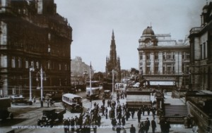 1930s postcard view of Woolworths, Princes Street, Edinburgh