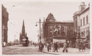 Undated (early 1900s) postcard view of Woolworths, Princes Street, Edinburgh