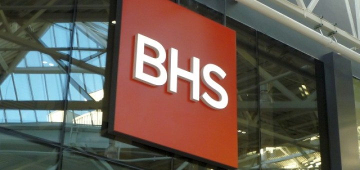 BHS fascia. Photograph by Graham Soult