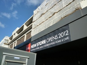 New BHS, Newcastle (5 Mar 2012). Photograph by Graham Soult