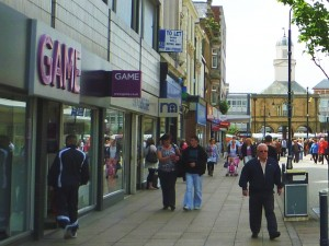 Game in South Shields - now closed (18 Jun 2010). Photograph by Graham Soult