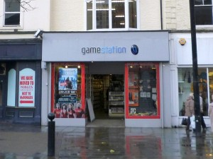 Gamestation, Stockton - now closed (22 Nov 2010). Photograph by Graham Soult